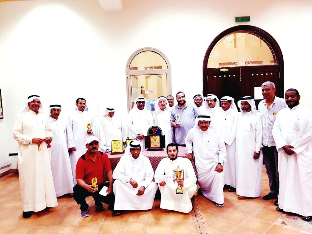 الكويتي الحواس بطل بطولة الدامة التنشيطية