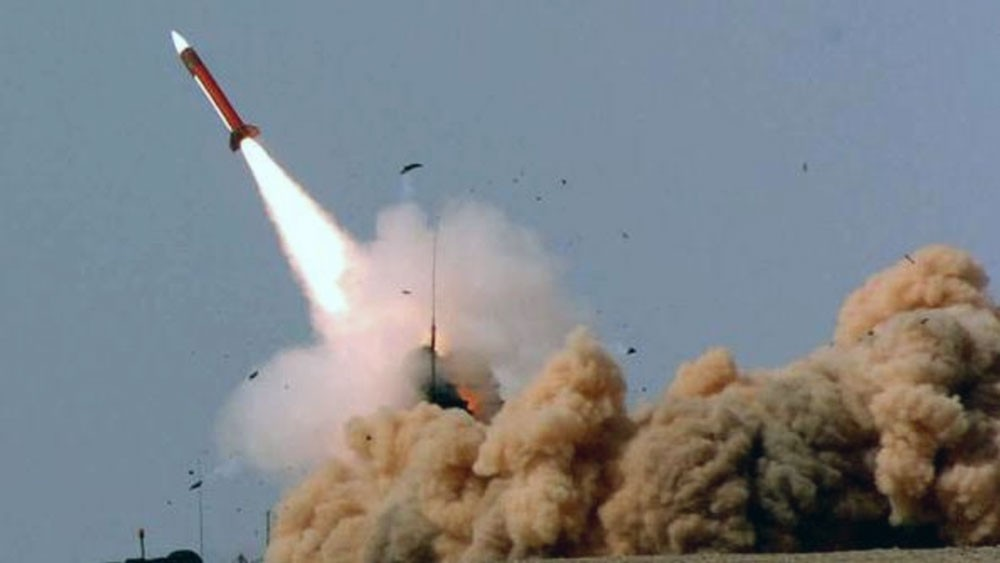 التحالف: إسقاط صاروخ أطلقه الحوثيون من صعدة تجاه جازان