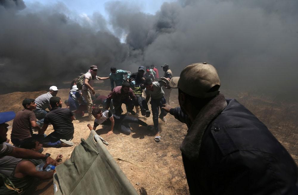62 قتيلا فلسطينيا في غزة.. إحياء ذكرى النكبة
