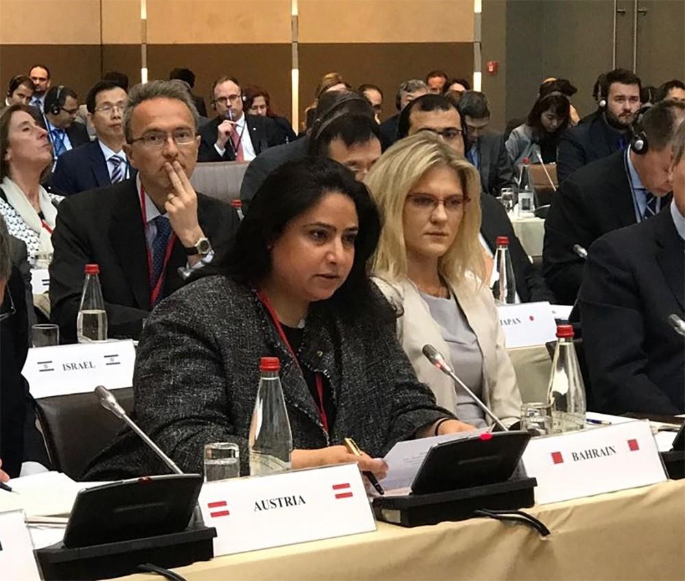 وكيل وزارة الخارجية تشارك في الاجتماع السياسي رفيع المستوى للمبادرة الأمنية لعدم الانتشار (PSI) في مدينة باريس