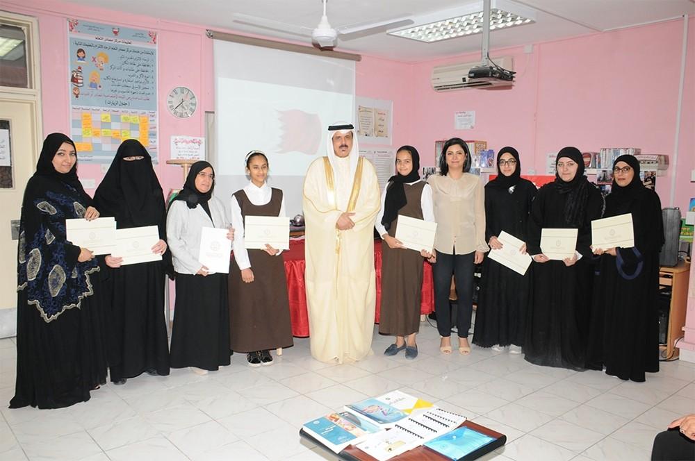 إعدادية زنوبيا تفوز بثلاث جوائز في مسابقة المدارس الصديقة لمكتب التربية العربي