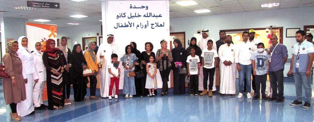 """وزيرة الصحة ترعى حفل مبادرة """"ابتسامة"""" للأطفال المتعافين من السرطان"""