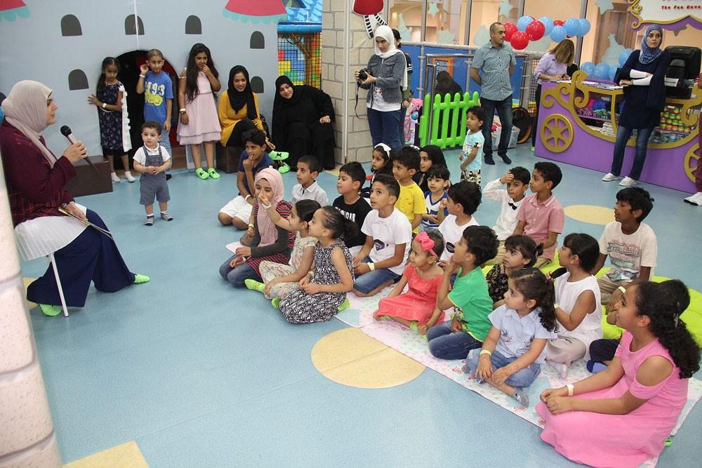 """""""ابتسامة"""" تنظم يوما ترفيها للأطفال مرضى السرطان منتسبي برنامج """"أبجد"""""""