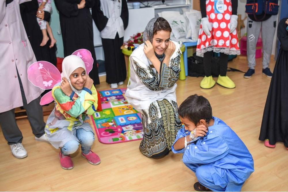 مبادرة ألوان الأمل ، تزرع الأمل .. لأطفال القطيف المرضى
