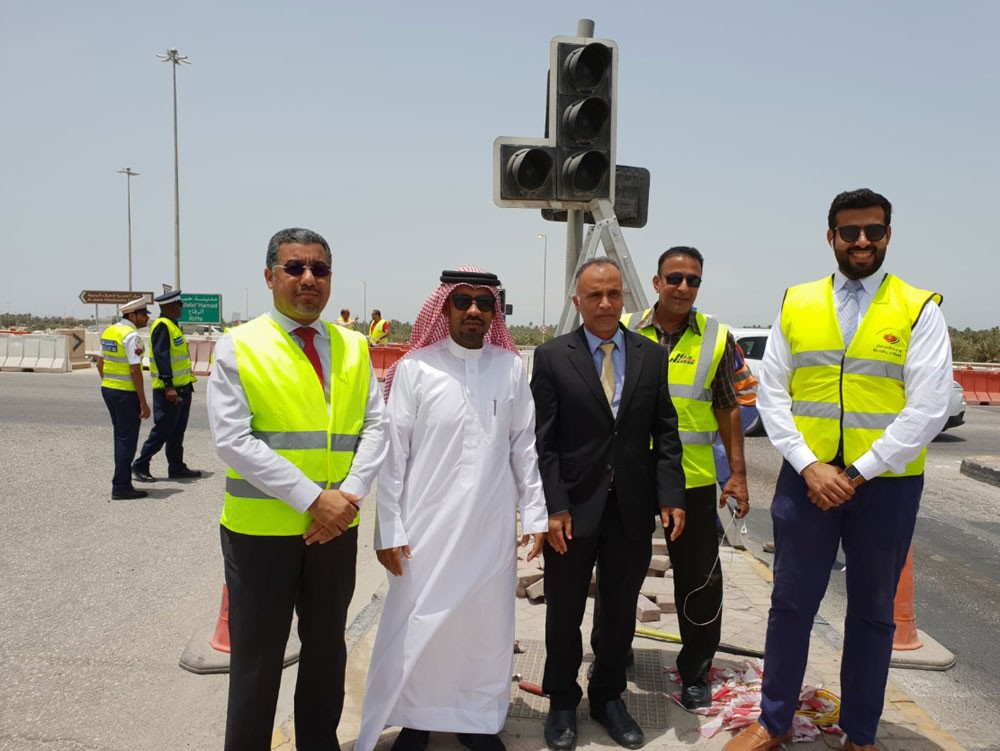 الدوسري: تقاطع الجسرة سيسهم في خدمة أهالي شارع البديع ومدينة سلمان