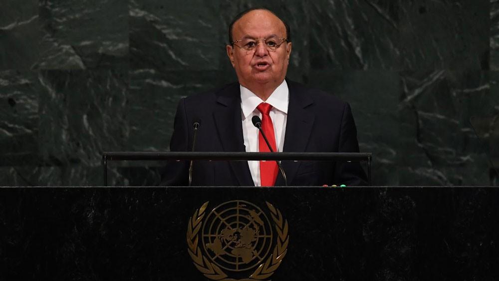 هادي: أوشكنا على حسم المعركة عسكرياً في اليمن