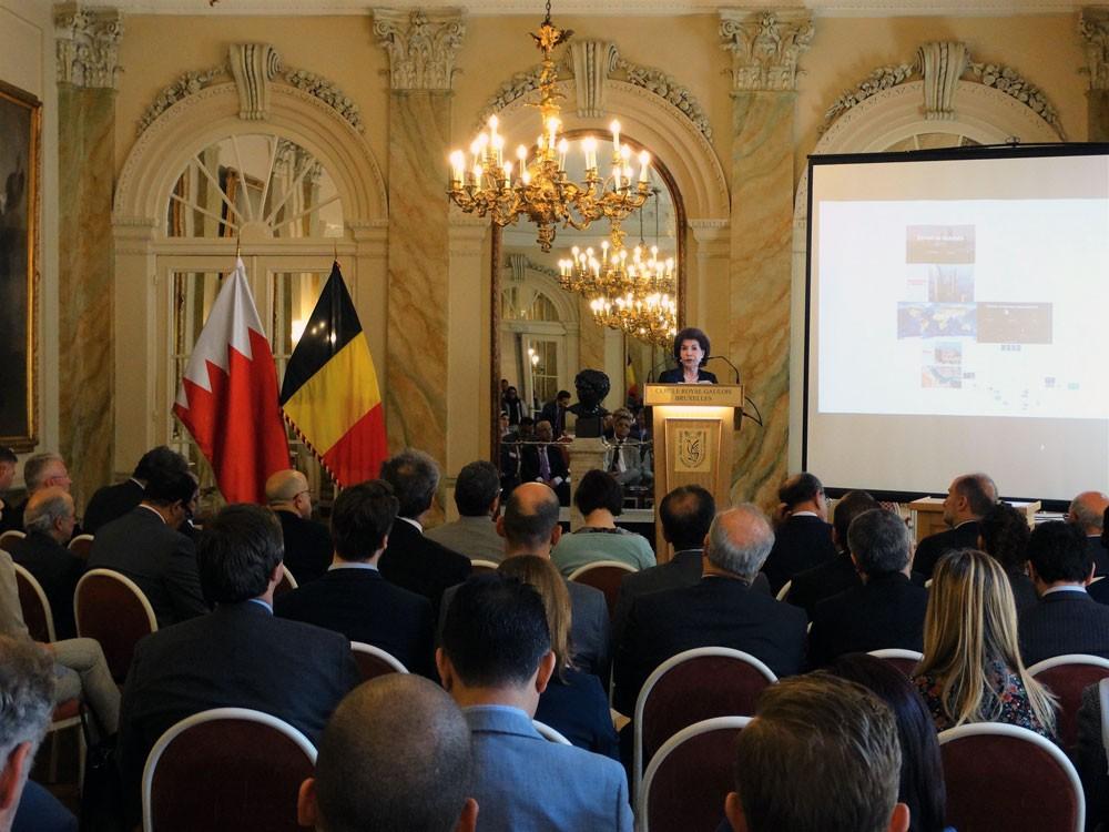 سفارة البحرين في بروكسل تنظم المنتدى البحريني البلجيكي للأعمال