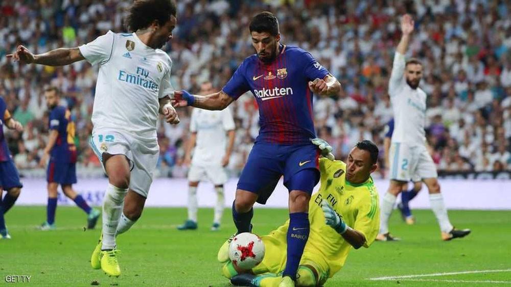 """ريال مدريد يتفوق على برشلونة في """"النظافة"""""""