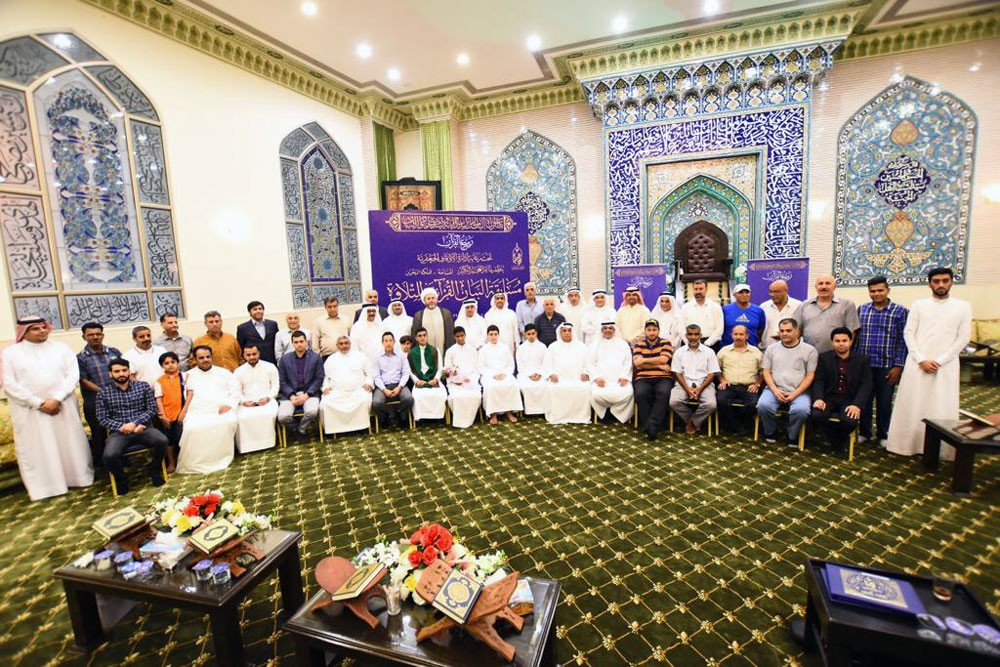 آل عصفور: دعم سنوي للفعاليات القرآنية بالشراكة مع المساجد والمآتم ومراكز التحفيظ