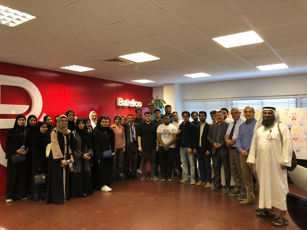 """""""بتلكو"""" تعرف منتسبي جامعة البحرين بمجالات التطوير في شبكتها"""