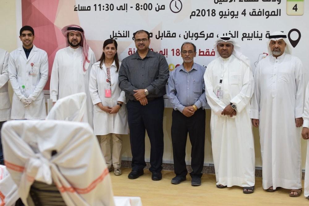 حملة رمضانية بسترة تحصد 161 كيس دم