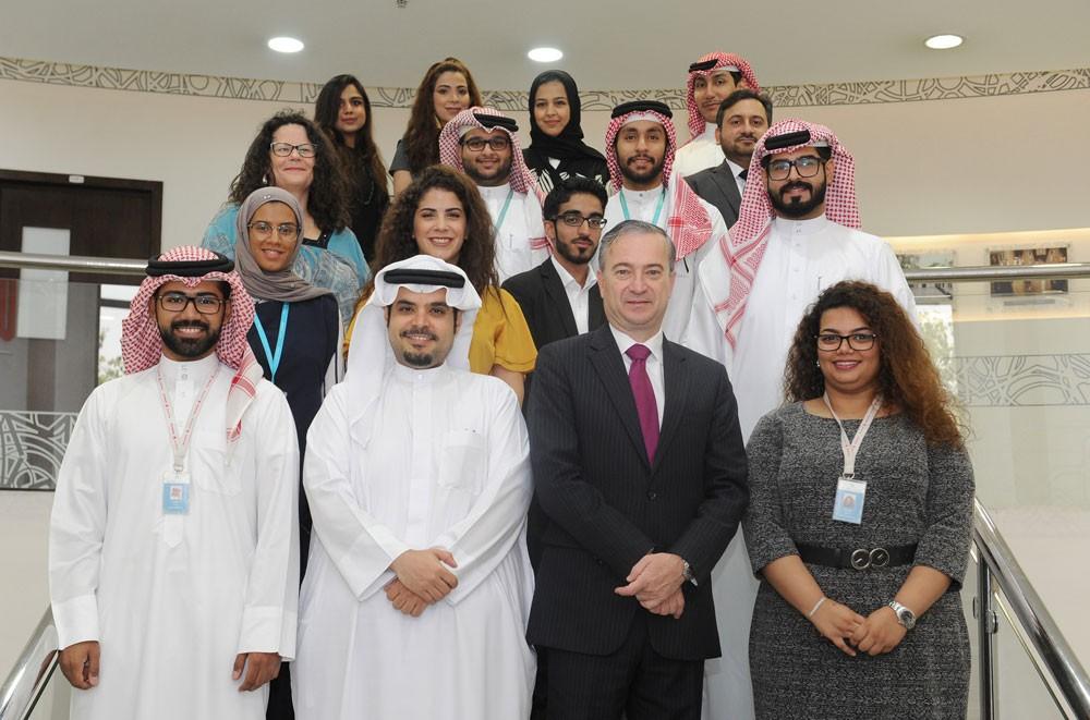 يوسف العيسى رئيسًا لمجلس طلبة بوليتكنك البحرين 2018 – 2019م