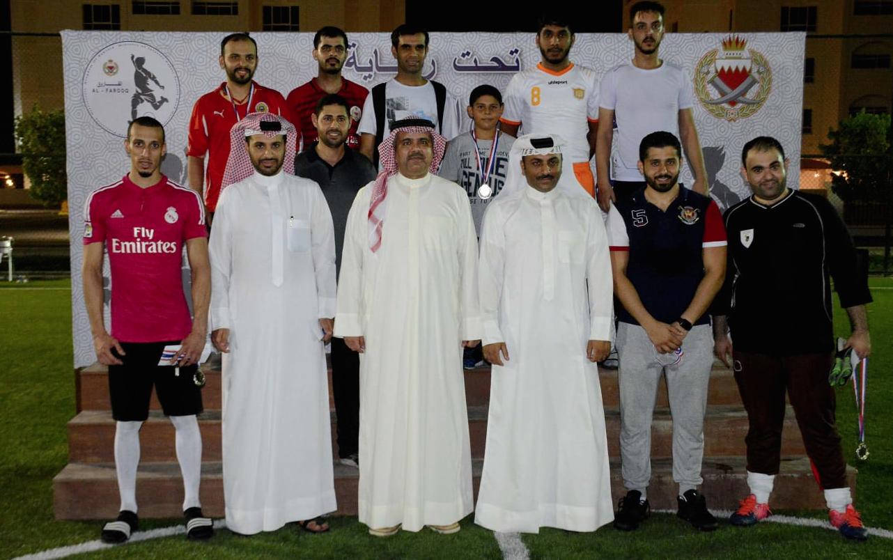 فريق الاصلاح والتأهيل يحرز بطولة الفاروق الرمضانية لكرة القدم