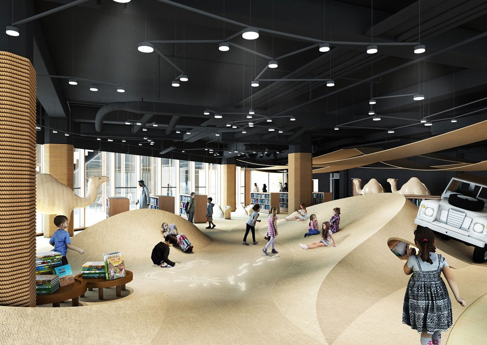 """""""الثقافة والسياحة- أبوظبي"""" تفتتح مكتبة فريدة للأطفال في المجمّع الثقافي"""