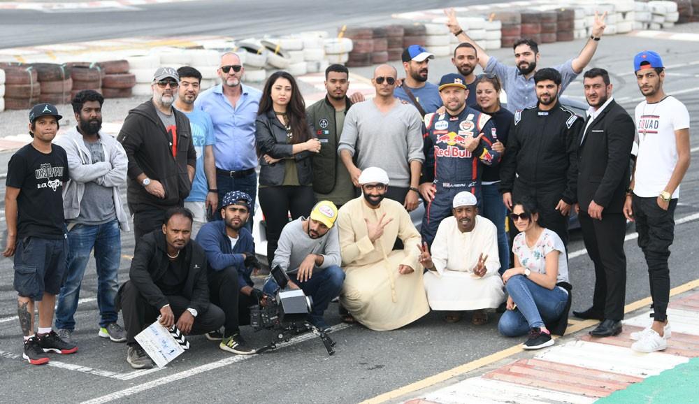 ظبي للأفلام الاماراتية تنتهي من عمليات تصوير الفيلم السينمائي هجولة 2