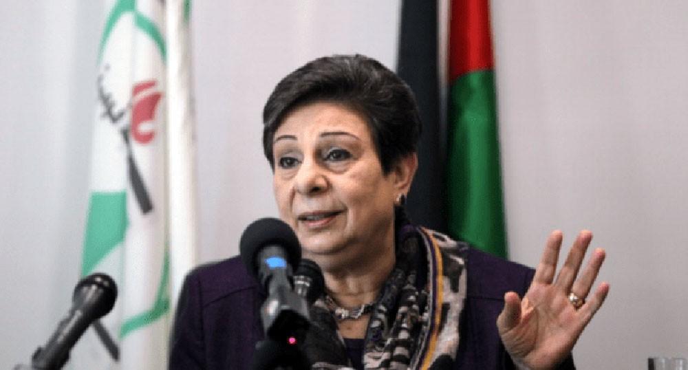 """عشراوي: إسرائيل تستخدم تقنية """"مرعبة"""" ضد الفلسطينيين"""