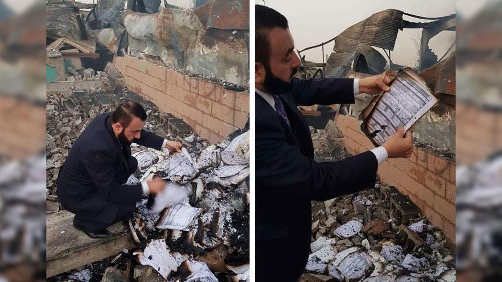 """العراق.. توقيف 6 بسبب """"إحراق"""" أجهزة الانتخابات"""