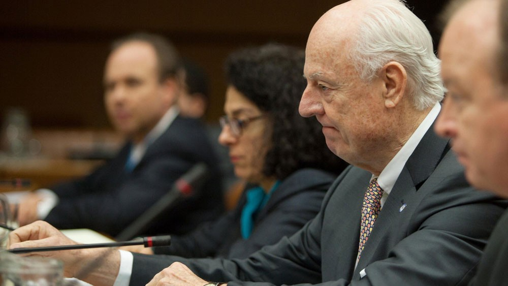 دي ميستورا: اجتماع إيراني روسي تركي حول سوريا 18 يونيو