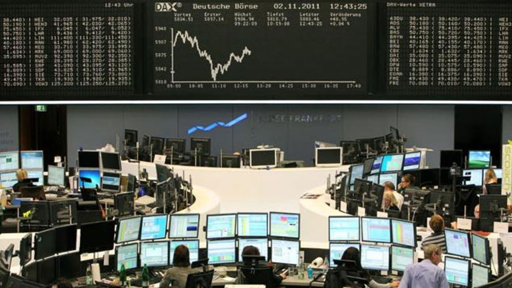 بورصة لندن تغلق على انخفاض في التعاملات