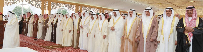 جلالة الملك يشارك جموع المصلين صلاة عيد الفطر المبارك