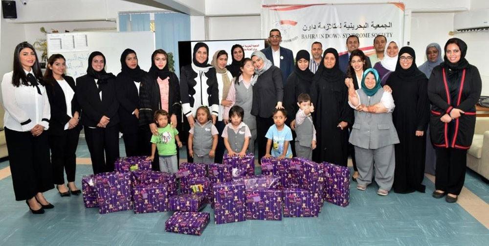 جيبك تشارك أطفال الجمعية البحرينية لمتلازمة داون فرحتهم