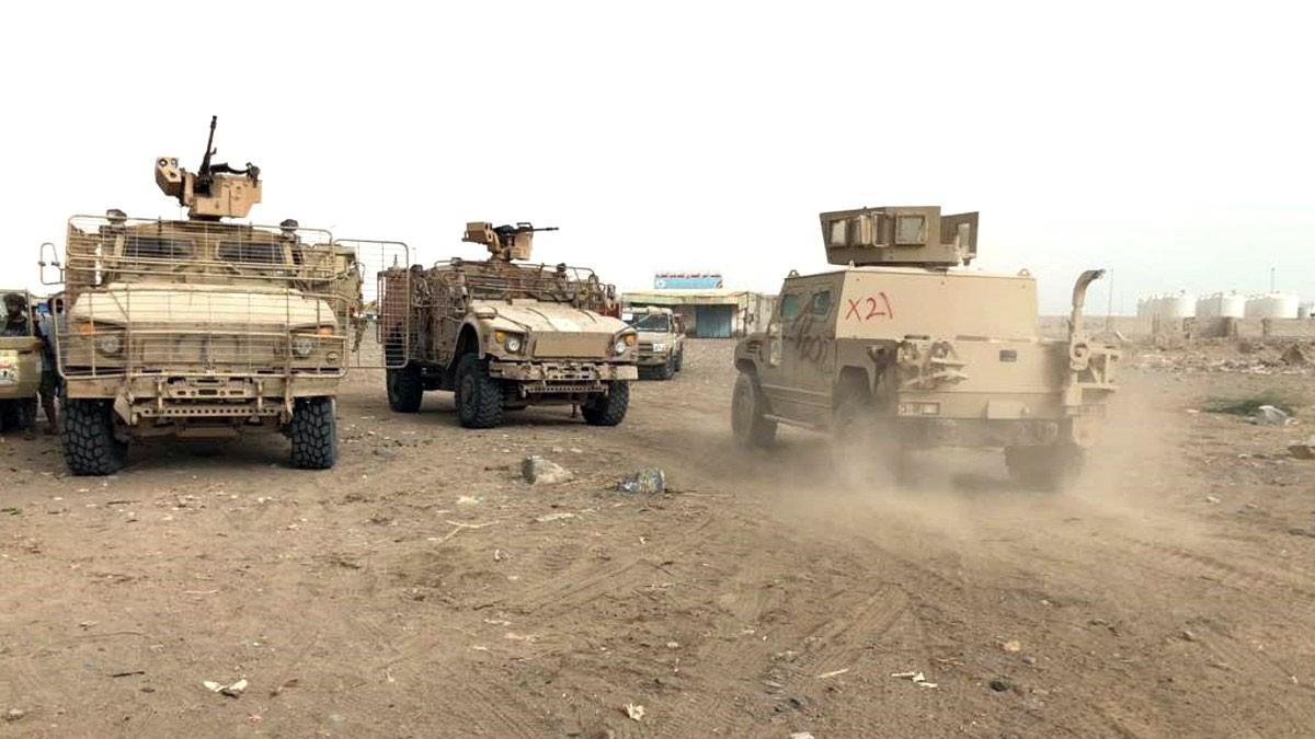 الجيش اليمني يطهر الشريط الساحلي المؤدي للحديدة
