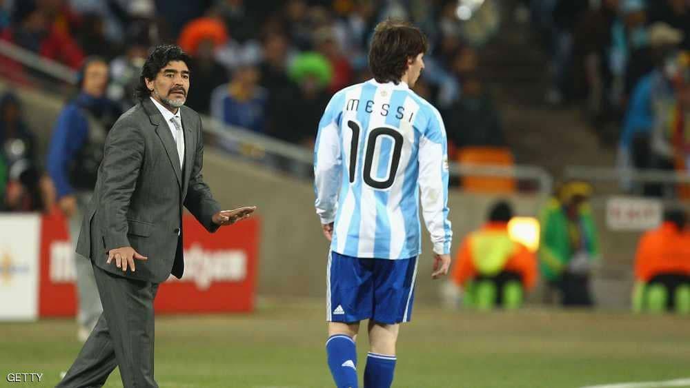 """عرض """"استثنائي"""" من مارادونا لمنتخب الأرجنتين بعد الخروج"""
