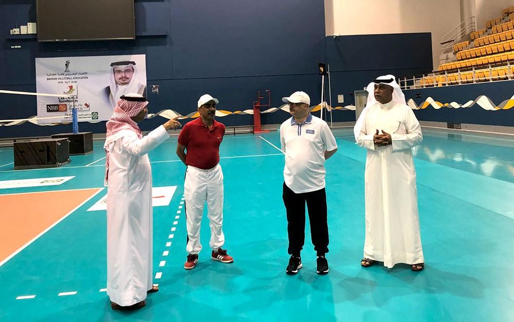 علي بن محمد: نعتز بما يقدمه ناصر بن حمد واللجنة الأولمبية لإتحاد الطائرة