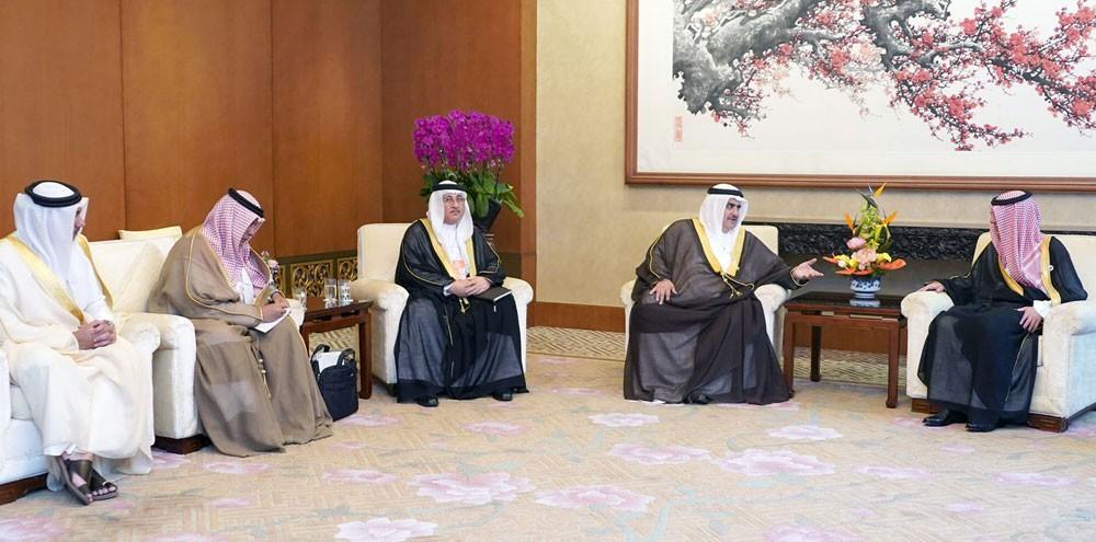 وزير الخارجية يستعرض مع وزير خارجية المملكة العربية السعودية مسار العلاقات الاخوية وآخر التطورات في المنطقة
