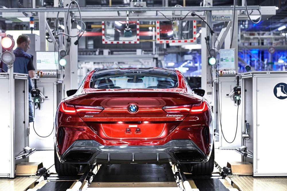 BMW تبدأ بإنتاج الفئة الثامنة