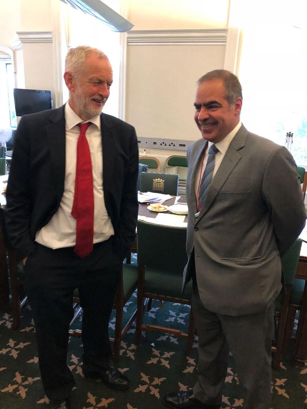 سفير البحرين لدى بريطانيا يجتمع بعضو مجلس العموم