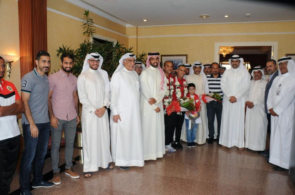 """شكرالله:كلمات الملك لها الأثر الكبير.. تلفت:""""البحرين تستاهل"""""""