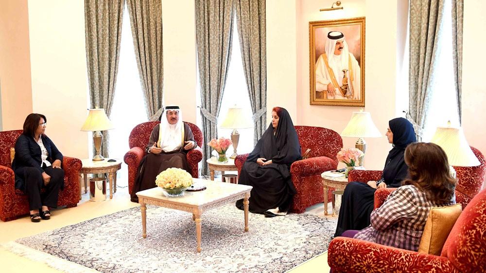 قرينة العاهل: الرؤية الملكية خير ضامن للحفاظ وتعزيز مكتسبات المرأة البحرينية