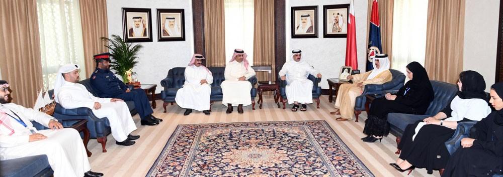 وزير الداخلية يشيد بجهود فريق الوزارة المشارك في اجتماع مجموعة العمل المالي