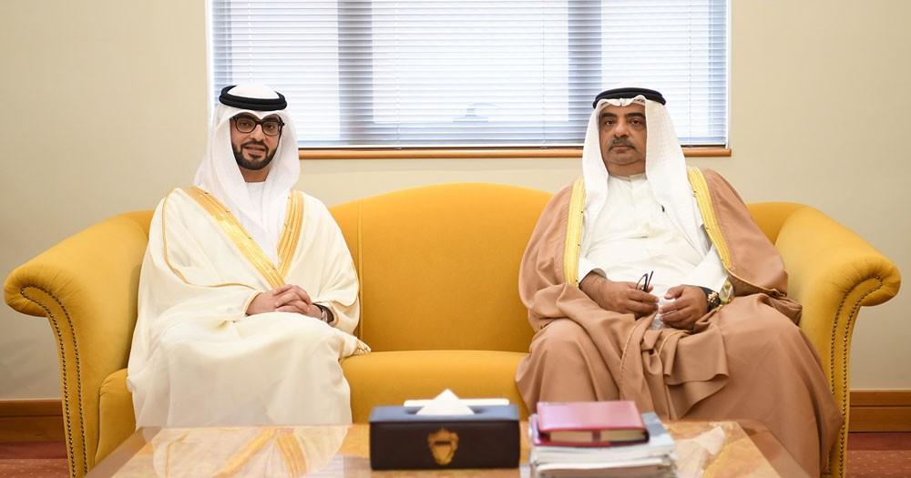 مستشار رئيس الوزراء يستقبل سفير الإمارات