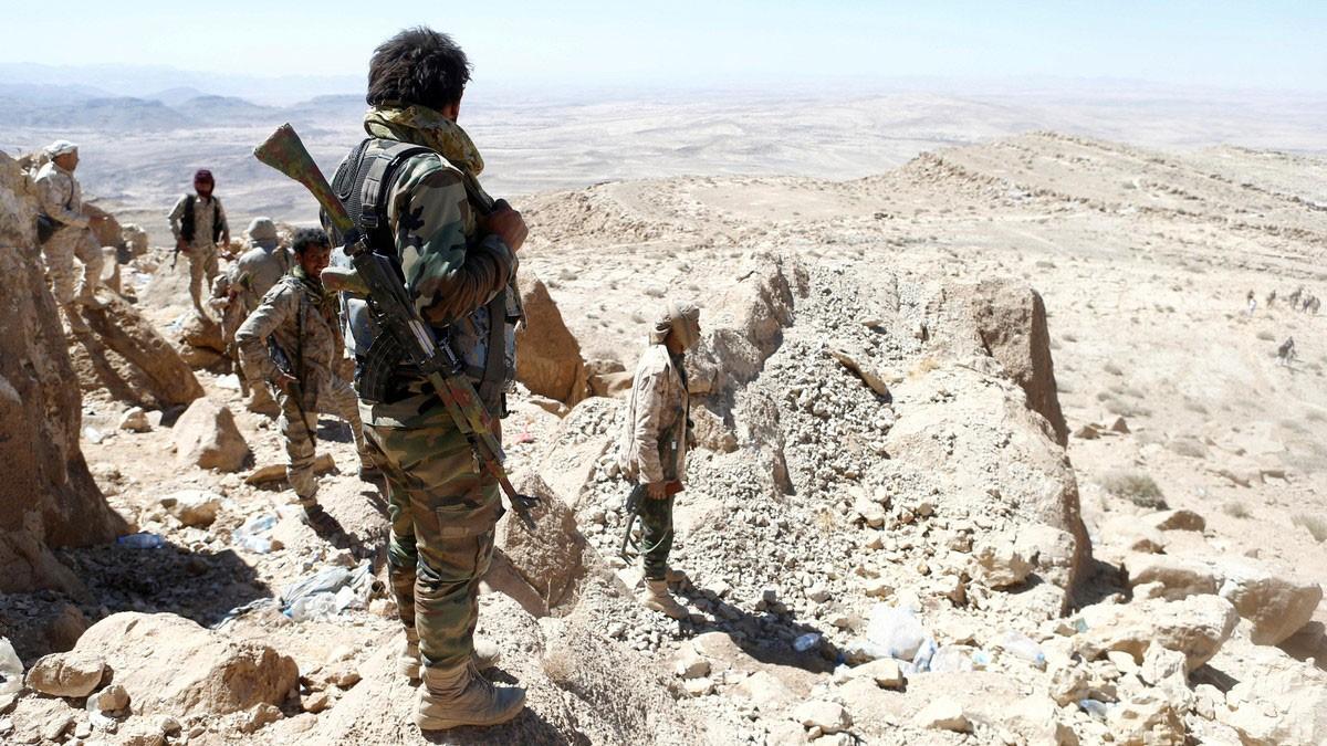 الجيش اليمني يستعيد مواقع من الحوثيين في تعز