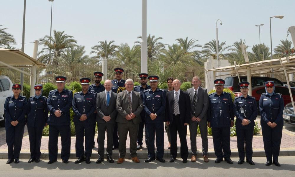 """وفد شرطة """"دورهام"""" يقوم بزيارة إلى عدد من إدارات وزارة الداخلية"""