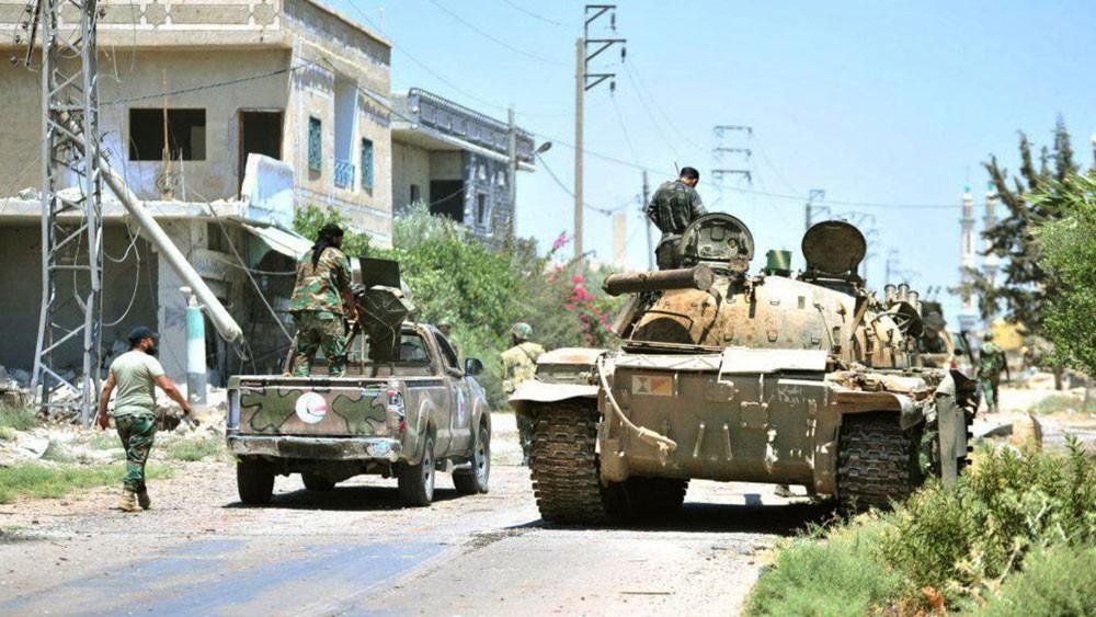 سوريا.. مدرعات النظام وقوات روسية تدخل درعا البلد