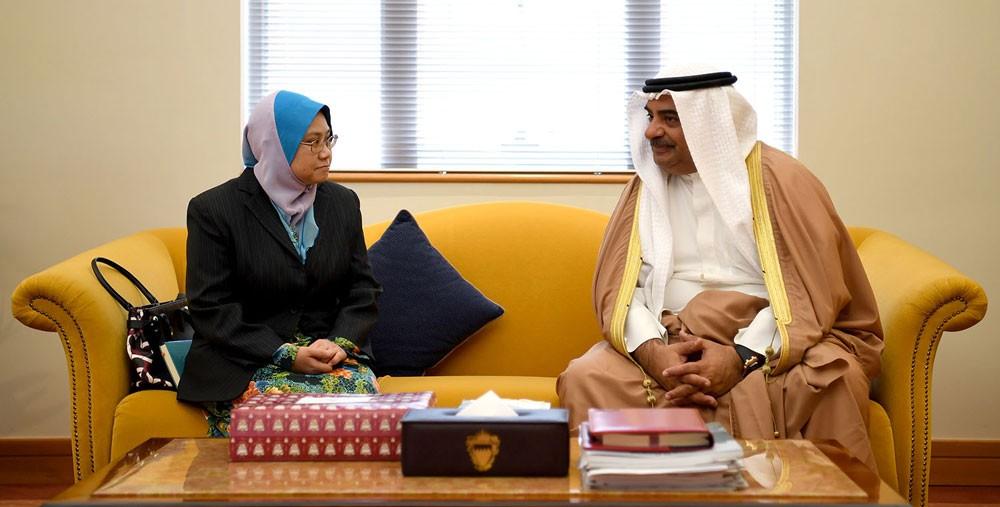 سمو الشيخ سلمان بن خليفة يشيد بمسار العلاقات بين البحرين وبروناي