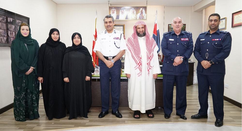 """""""شرطة المحرق"""" تعقد اجتماعا تنسيقيا لتنفيذ قرار حظر جمع المال في المساجد ودور العبادة"""