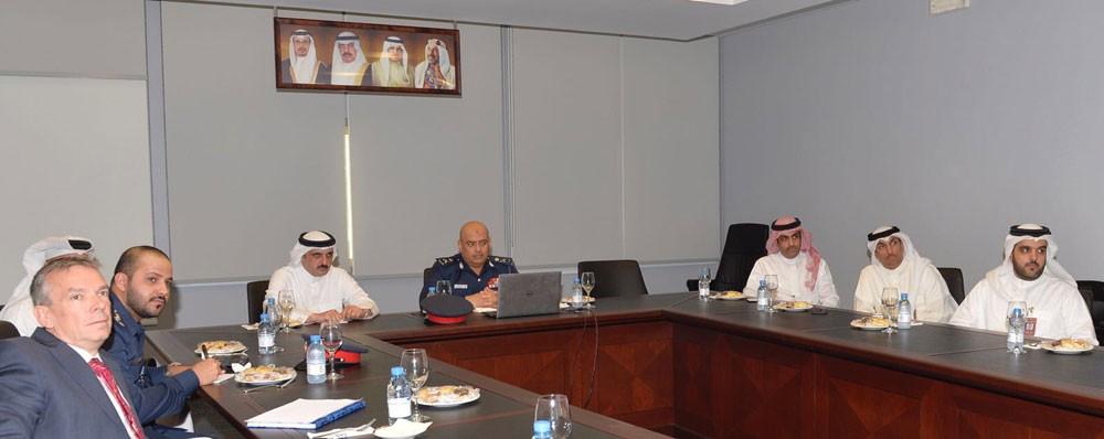 رئيس الأمن العام يتفقد المركز الوطني للأمن السيبراني
