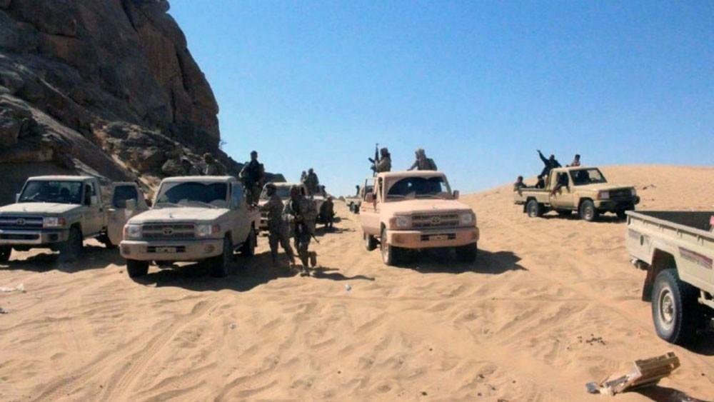 قوات الشرعية تتقدم باتجاه مديرية الحشوة شرق صعدة