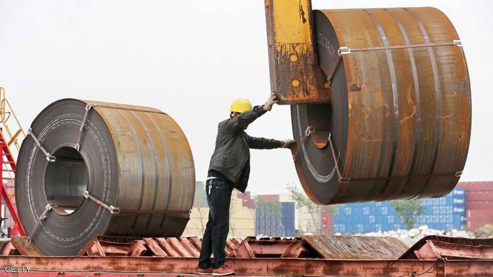 إنتاج الصلب الصيني يسجل رقما قياسيا