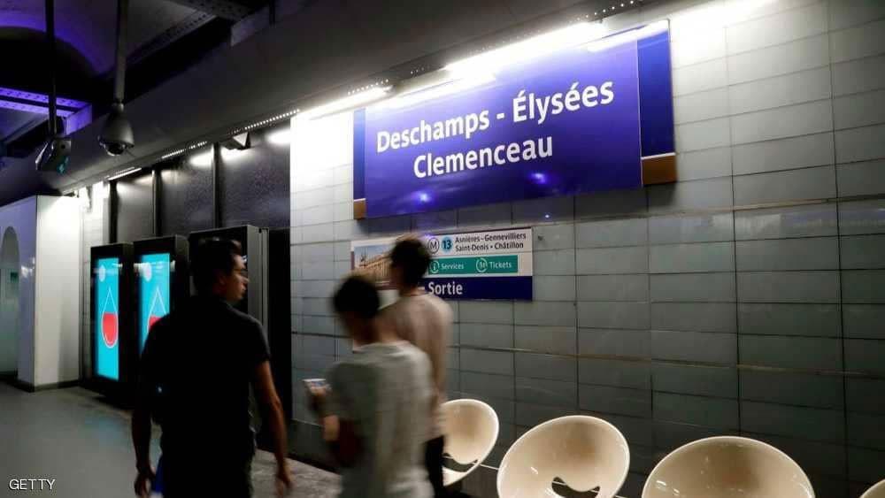 بعد ساعات من التتويج.. مترو فرنسا يخلد نجوم المونديال