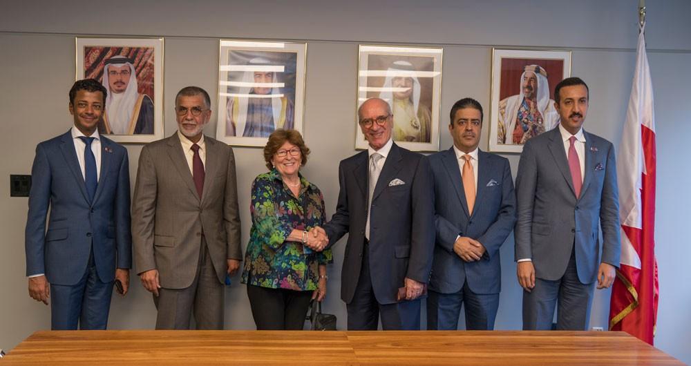 المطوع يجتمع مع ممثل الأمين العام للأمم المتحدة المعني بالهجرة الدولية