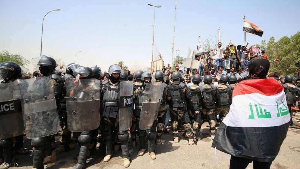 اعتقالات واسعة تطال محتجين في البصرة