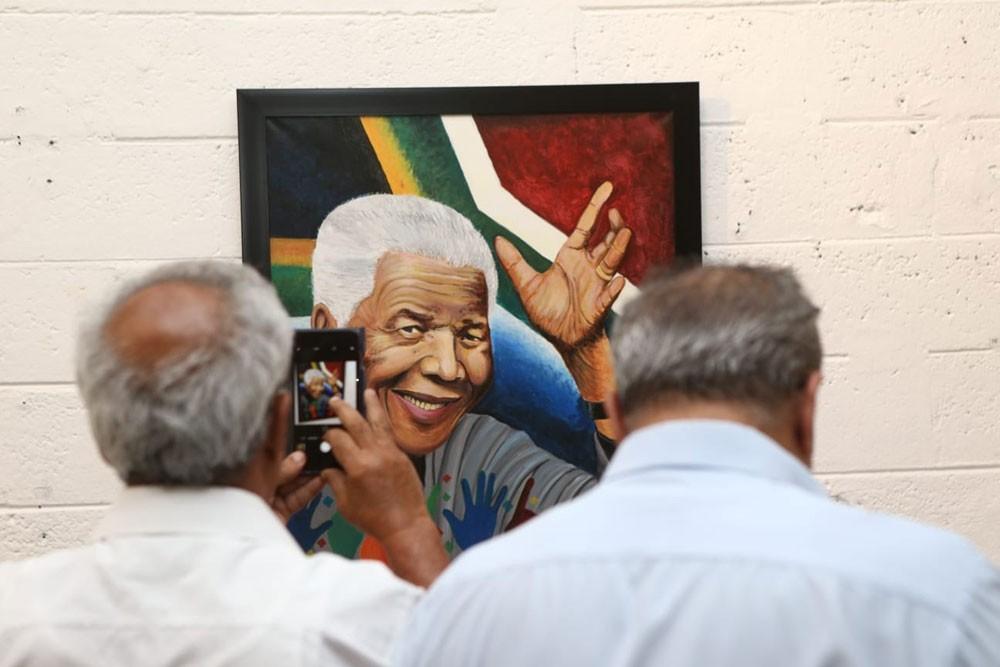 """فعالية """"اليوم الدولي لنلسون مانديلا"""" في فضاء مشق"""