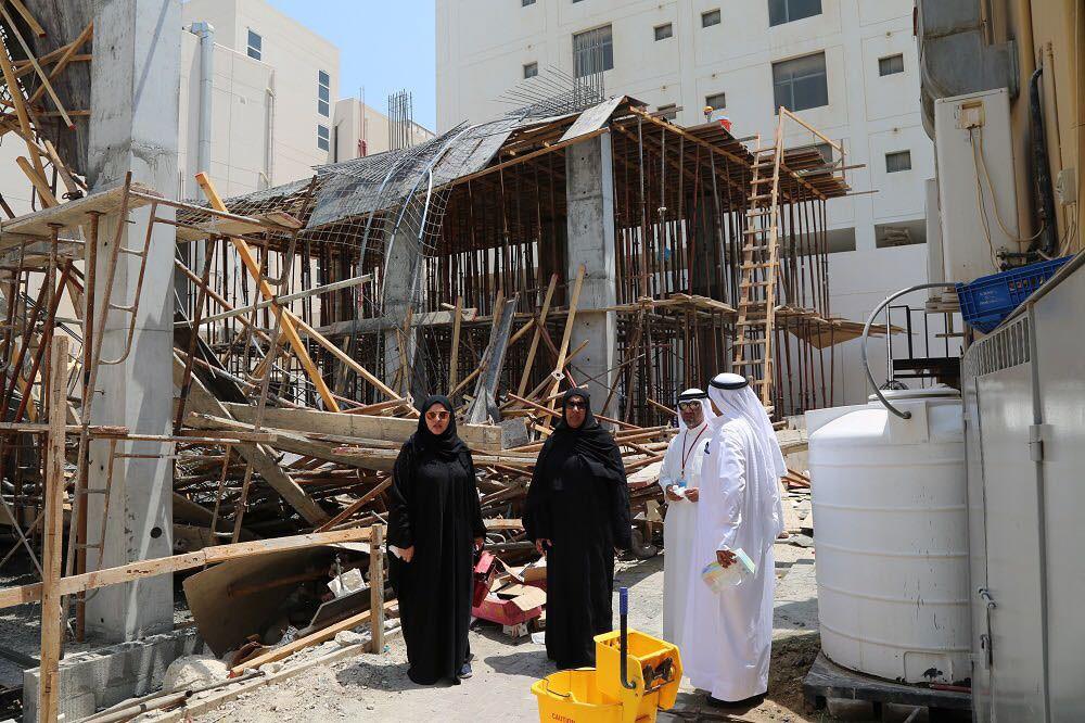 الفضالة: انهيار سقف المبنى بجنوسان يعود لضعف الالتزام باشتراطات السلامة