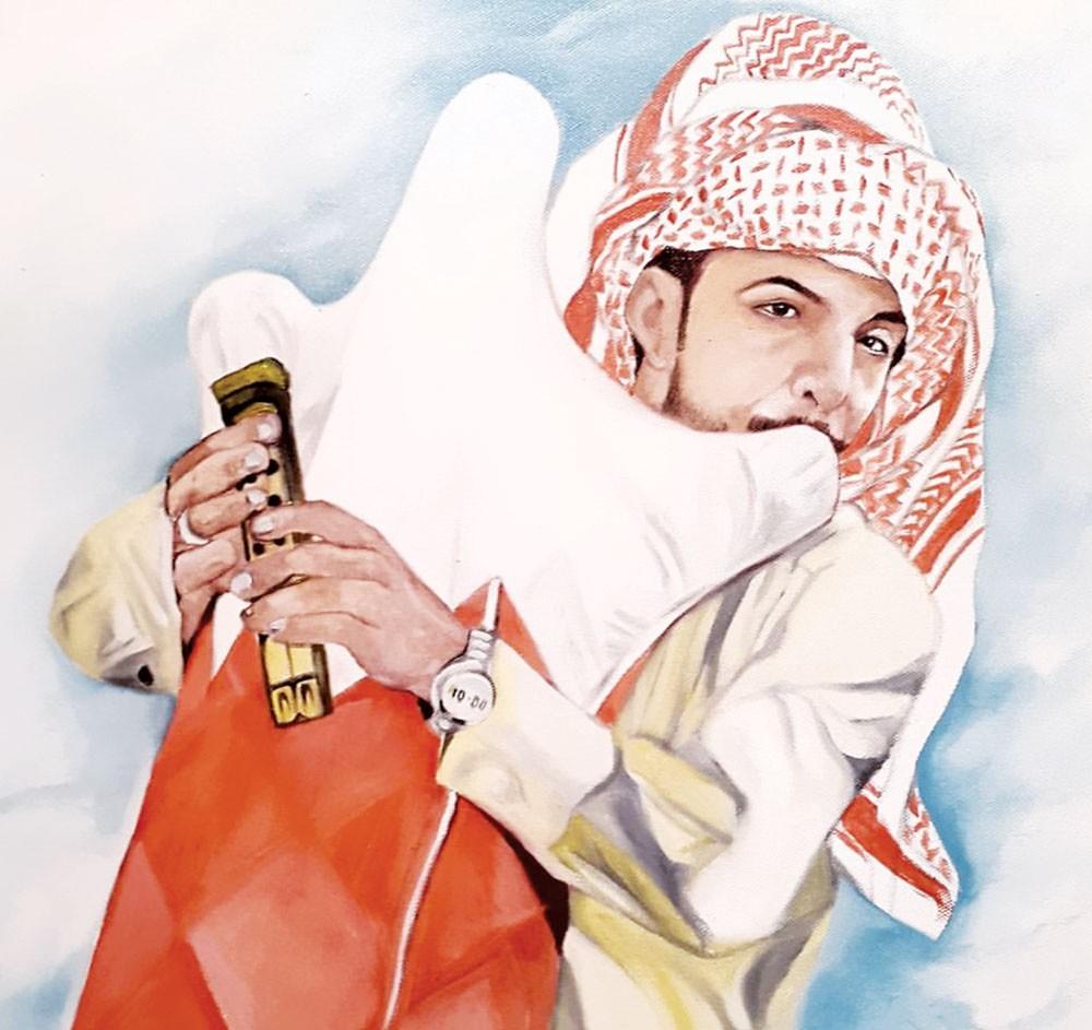 """طارق إسماعيل لـ""""البلاد"""": صعوبة رسم البورتريه تكمن في العين فهي منطقة الإبداع"""