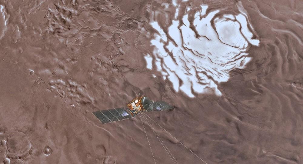 العثور على أول مصدر للمياه السائلة في المريخ